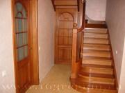 Проектирование и изготовление лестниц из дерева.