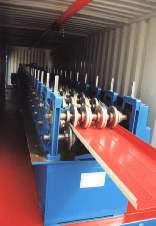 Оборудование для производства металлического сайдинга Блок хаус